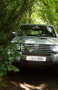 4x4 off road adventure breaks in Devon and Cornwall