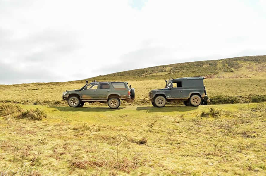 4x4 driving in Devon and Cornwall